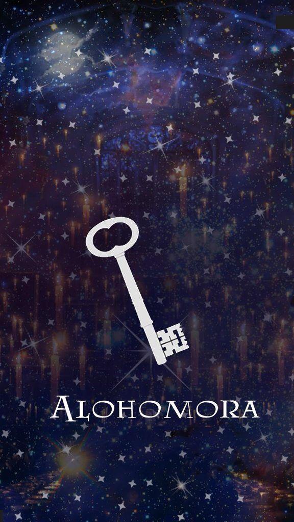 Harry Potter Alohomora iPhone wallpaper