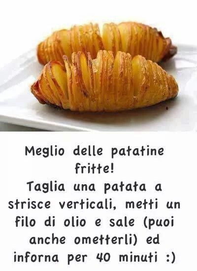 Meglio delle patatine fritte