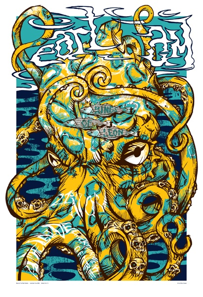 Band Poster - Kings of Leon and Pearl Jam