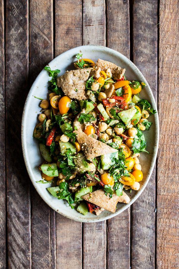 Falafel Fattoush Salad   The Full Helping