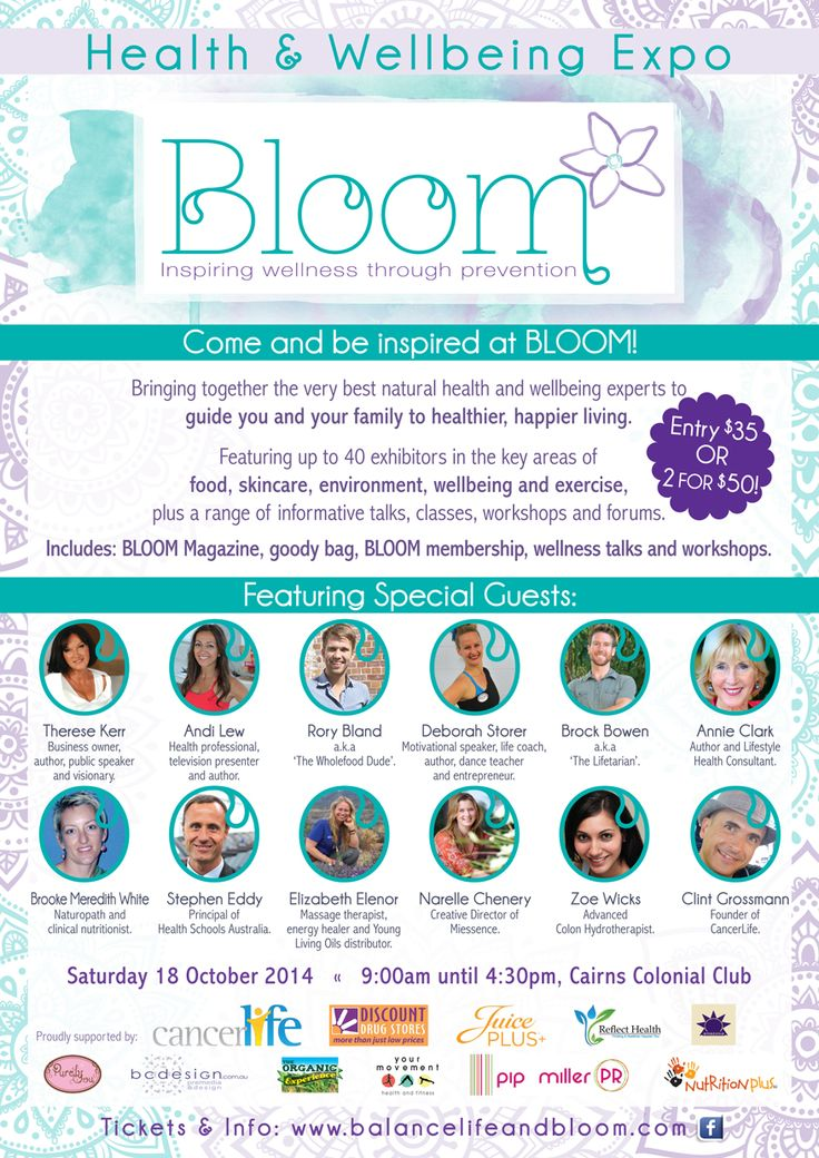Bloom Health and Wellbeing Expo in #Cairns tomorrow!  Don't miss this opportunity to meet the one & only creator of #Miessence #CertifiedOrganic products, Narelle Chenery