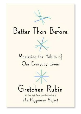 """Author: """"Habits help you not be filled with regret. By giving yourself a lack of choice it's really easier to be happier in the long run. I use the strategy of abstaining. It's not for everyone, but when facing a strong temptation, sometimes it's easier to just give up the thing all together. Then you don't have to think or make a choice. But for some people, moderation is the way to go."""""""