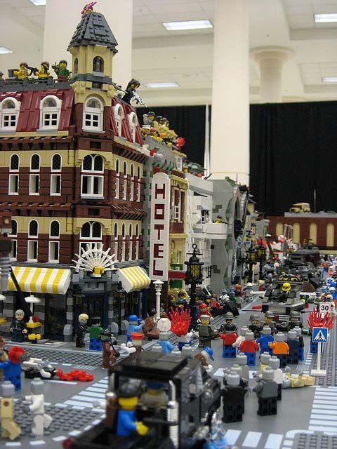 Lego Zombie Apocalypse!