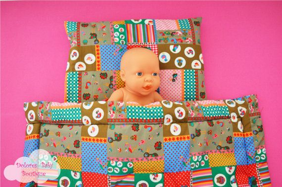 Baby Bedding Set Baby Christmas Blanket by DoloresBabyBoutique