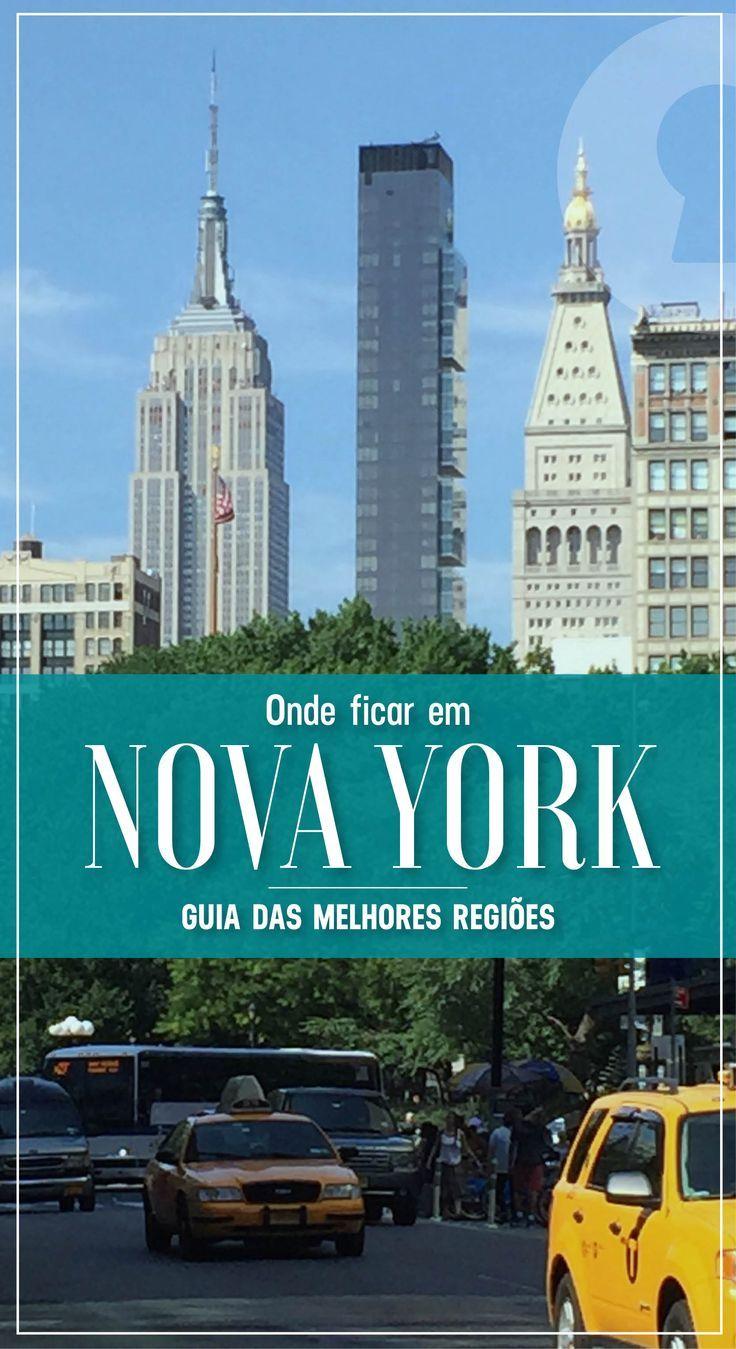 Vai para Nova York? Descubra os melhores bairros e regiões para se hospedar, e veja ainda dicas de hotéis em cada lugar. Um guia completo para achar sua hospedagem em NY!