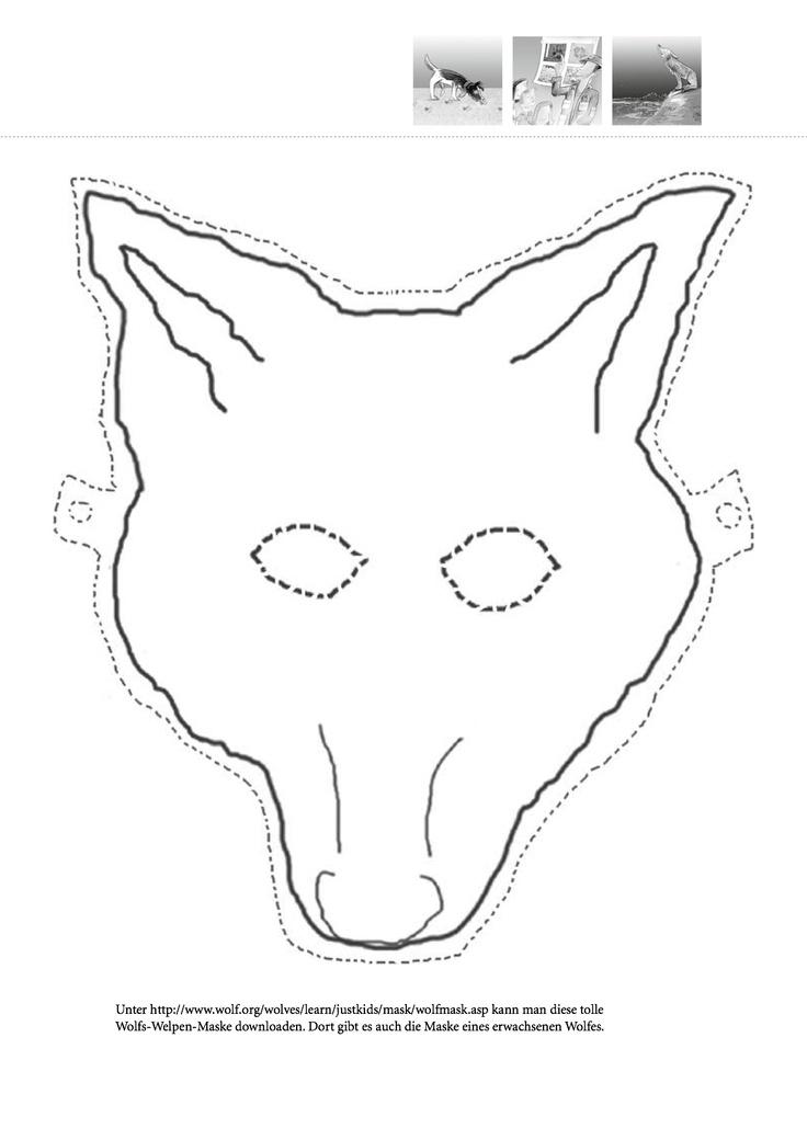 die besten 25 wolfsmaske ideen auf pinterest mascara. Black Bedroom Furniture Sets. Home Design Ideas