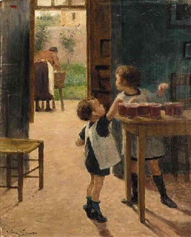 Victor Gabriel Gilbert - The opportunists: