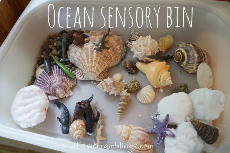 Fizzy Ocean Sensory Bin