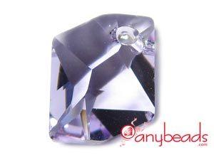 Violet Austrian Swarovski Crystal Elements 6680 Cosmic Pendant 14mm
