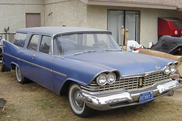 1959 plymouth wagon chrysler corporation mopar wagons