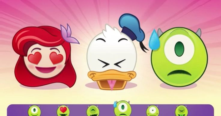 Disney emojis are about to become a part of your world