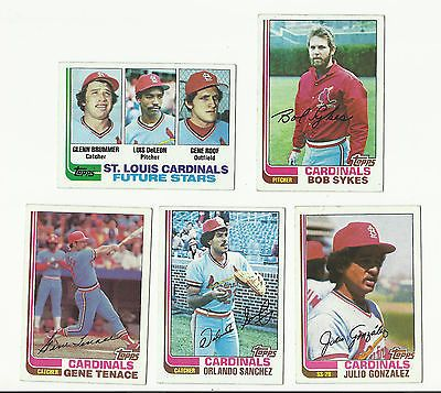 Vintage 1982 topps baseball #cards – #saint #louis cardinals - mlb,  View more on the LINK: http://www.zeppy.io/product/gb/2/322320498047/