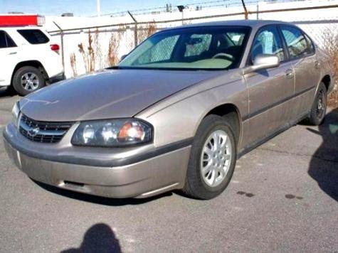 2002 Chevrolet Impala cheap sedan — $1688 in Utah