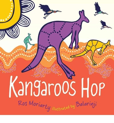 Kangaroos Hop helps children identify favourite Australian animals in the Australian landscape.