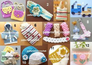 Top 12 designs from 2016 for  patternsforcrochet http://crochetncreate.com/top-free-designs-2016/ #crochet #crochetncreate