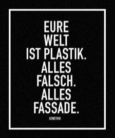Eure Welt ist Plastik