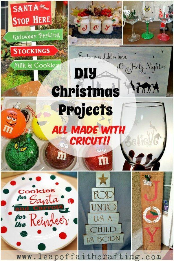 The Best Cricut Ideas For Christmas Leap Of Faith Crafting Diy Holiday Gifts Cricut Christmas Ideas Creative Diy Gifts