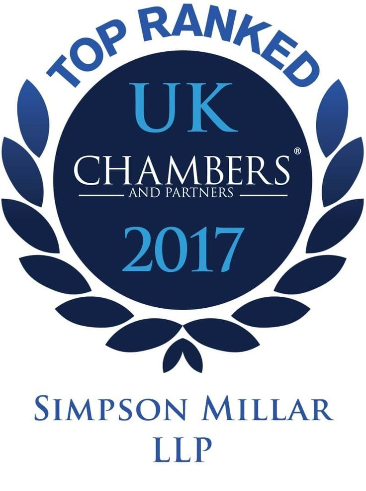 Chambers and Partners 2017 - Top Ranked Law Firm Simpson Millar LLP