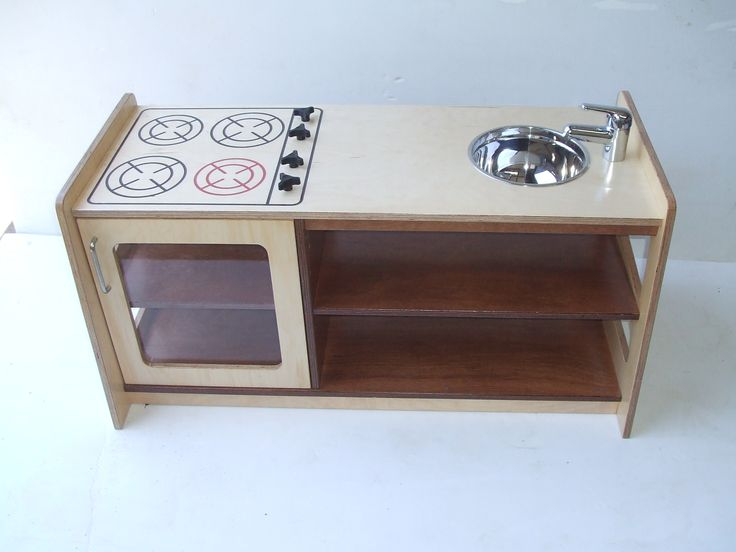 Hebe Wooden Play Kitchen.  Available at www.hebe.kiwi.nz