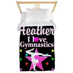 Graceful Gymnast Twin Duvet Awesome personalized Gymnastics designs available on Tees, Apparel and Gifts. http://www.cafepress.com/sportsstar/10114301 #Gymnastics #Gymnast #WomensGymnastics #Gymnastgift #Lovegymnastics #PersonalizedGymnast