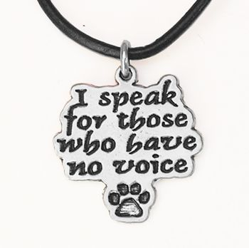 I Speak For Those Who Have No Voice: