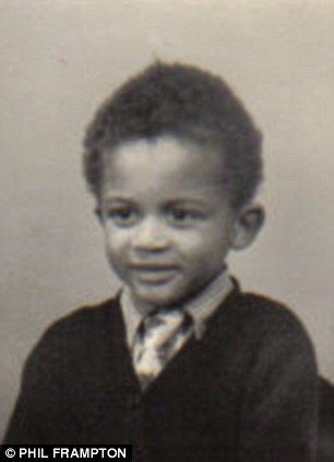 A young Thin Lizzy's Phil Lynott