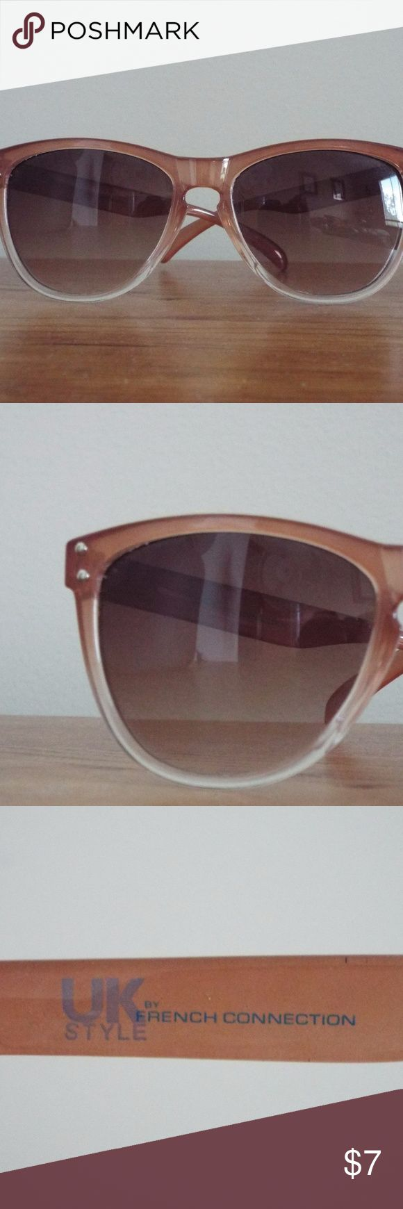 🕶️🌞 FRENCH CONNECTION BROWN OMBRE SUNGLASSES UK Style by French Connection! Beautiful sunglasses for a sunny day out any time of year! Go with every outfit and very sturdy and stylish. French Connection Accessories Sunglasses