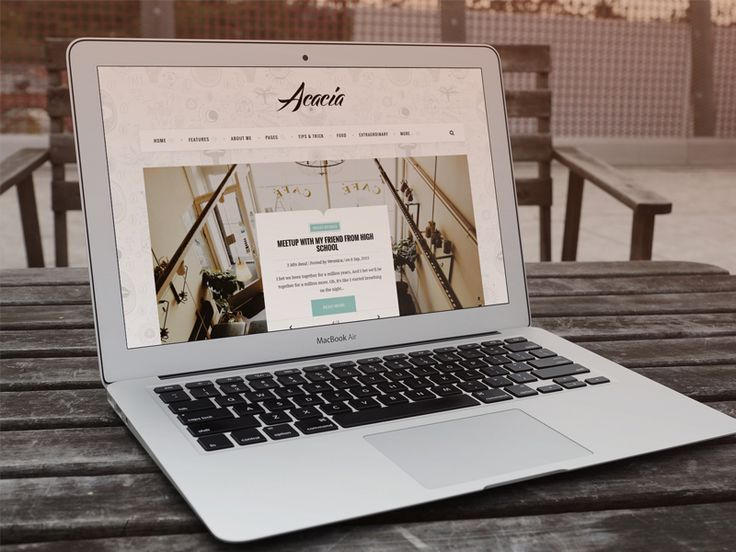 Acacia | Classy & Responsive WordPress Blog Theme by Azhari Subroto