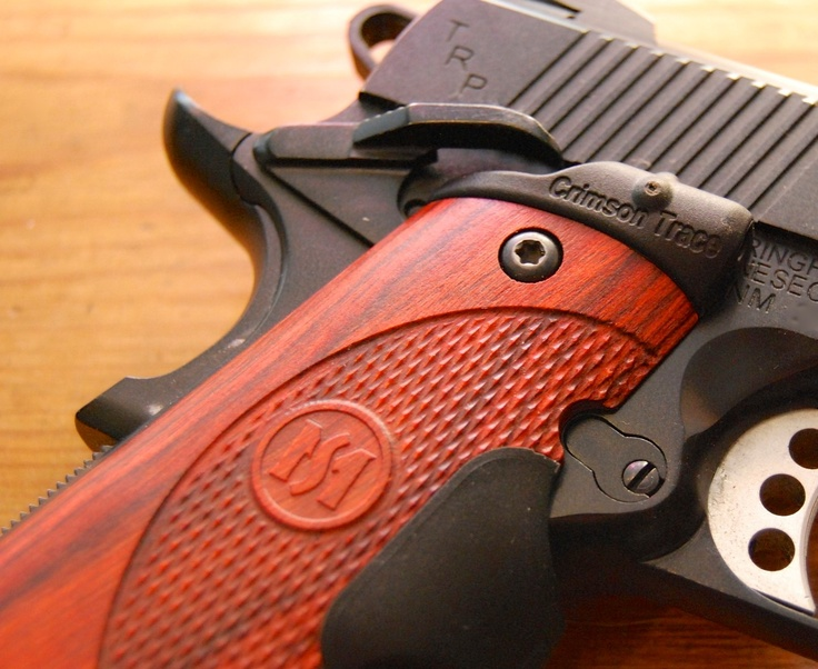 @CrimsonTrace Master Series Lasergrips on a Springfield Armory TRP 1911.