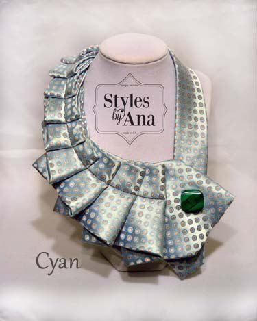 ¿Os gustaría hacer un collar o un cuello con una corbata? También puedes hacerte primero una corbata con una tela bonita que te guste...y luego la adornas como más te guste. Entra en este enlace y verás... https://www.telasdivinas.com/corbatas-de-telas-bonitas?utm_source=pinterest%2C%20corbatas%20de%20telas%20bonitas&utm_medium=pinterest&utm_campaign=pinterest%2C%20corbatas%20de%20telas%20bonitas
