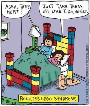 The Argyle Sweater Comic Strip, December 15, 2014 on GoComics.com