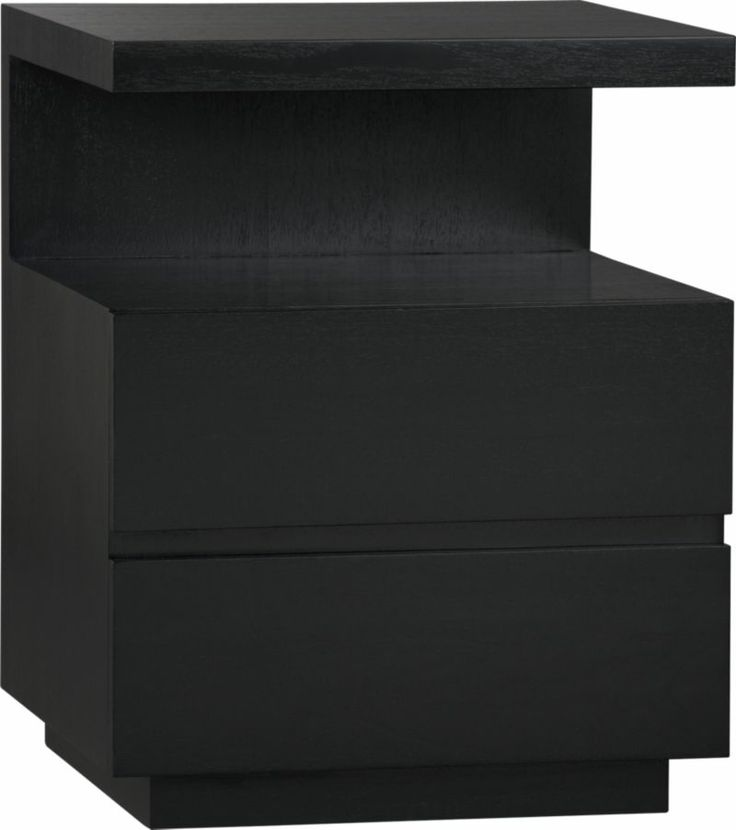 Dawson Grey Wash Nightstand Black Nightstand Crates And