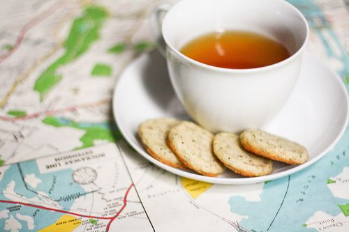 earl grey tea shortbread...sounds great right about now