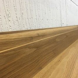SK110 Solid Natural Oiled Oak Skirting Board