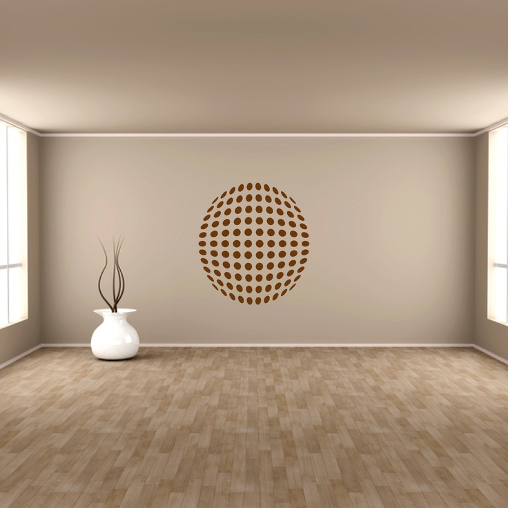 Art of Wall Vinyl Wall Art Sphere