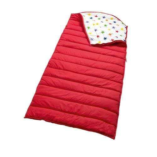 Quilted Sleeping Bag - Red