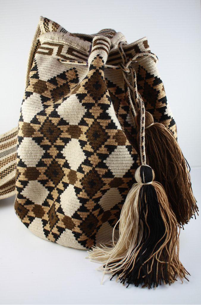 Hand crocheted bag from Venezuela $245