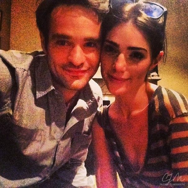 """Janet Montgomery is one lucky gal, not just she is ridiculously pretty, but she is dating Charlie Cox the British actor recently chosen to play the titular blind superhero in its upcoming Netflix series, """"Daredevil."""" #charliecox #daredevil #marvel #janetmontgomery @dailyentertainmentnews"""