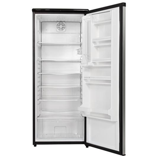 danby dar1102bsl 11 0 cu ft apartment size refrigerator