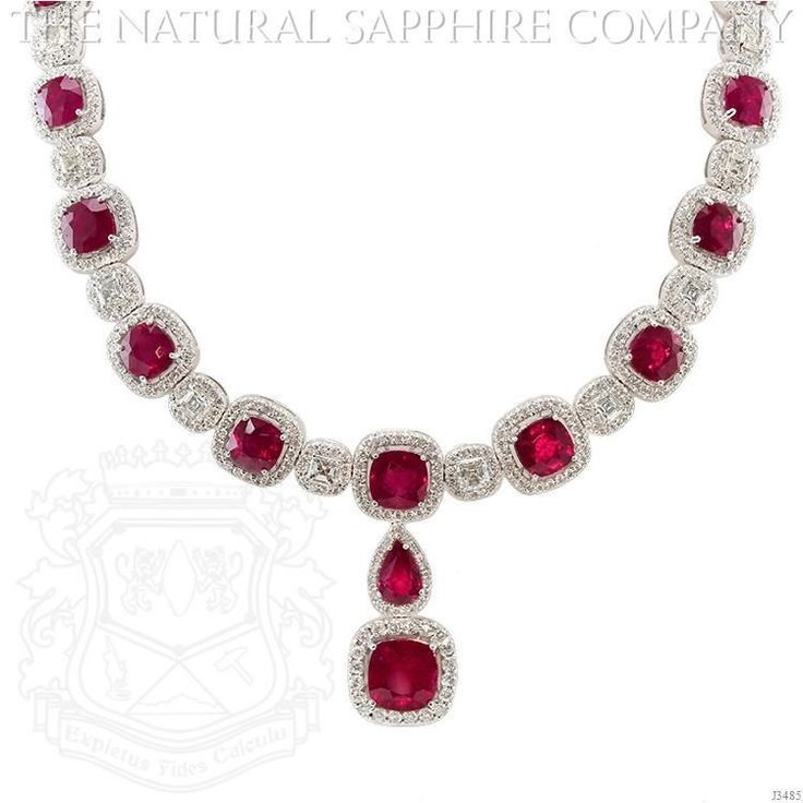 53 best ruby necklace images on Pinterest Ruby necklace Jewerly