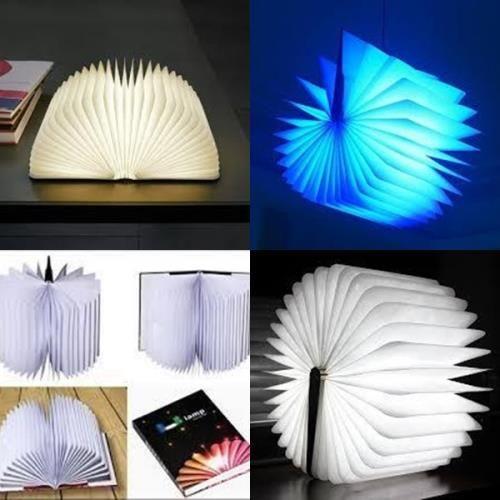 Kitap Tasarımında Lamba - Hediyelik Eşya - Durbuldum.com - ilginç