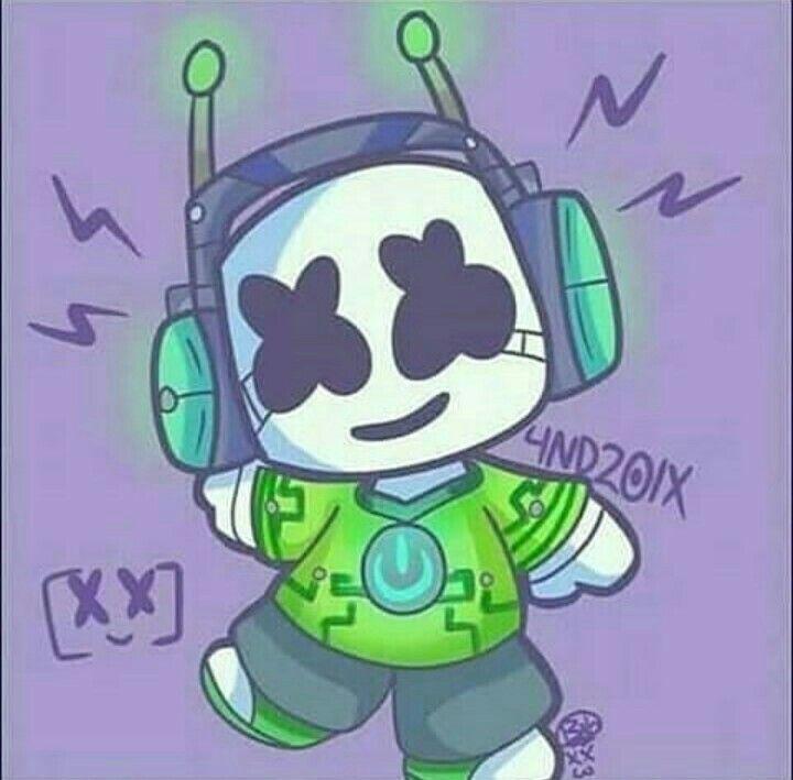 Masmelo Fondos De Musica Electronica Dibujos De Marshmello Fondo De Pantalla De Anime
