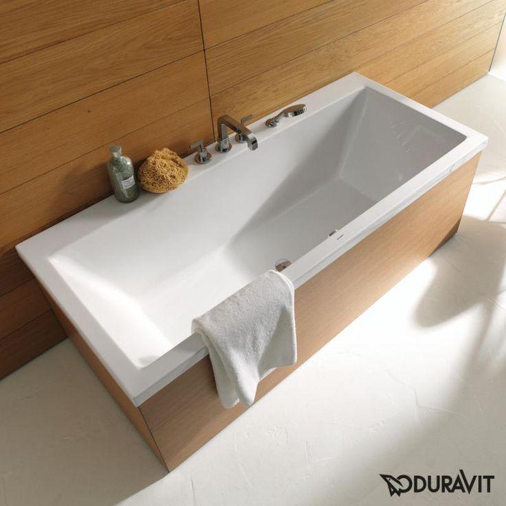 Duravit Vero Rechteck Badewanne, Einbauversion oder Wannenverkleidung…
