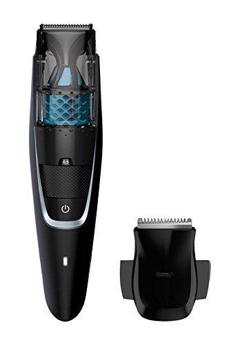 Philips Tondeuse barbe Series 7000 avec système d'aspiration des poils: Notre nouveau guide de coupe dynamique soulève les poils pour une…