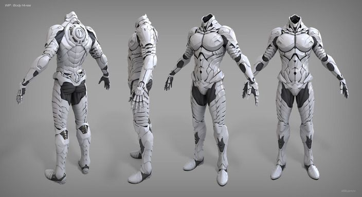 Image result for futuristic space suit concept art | SA game