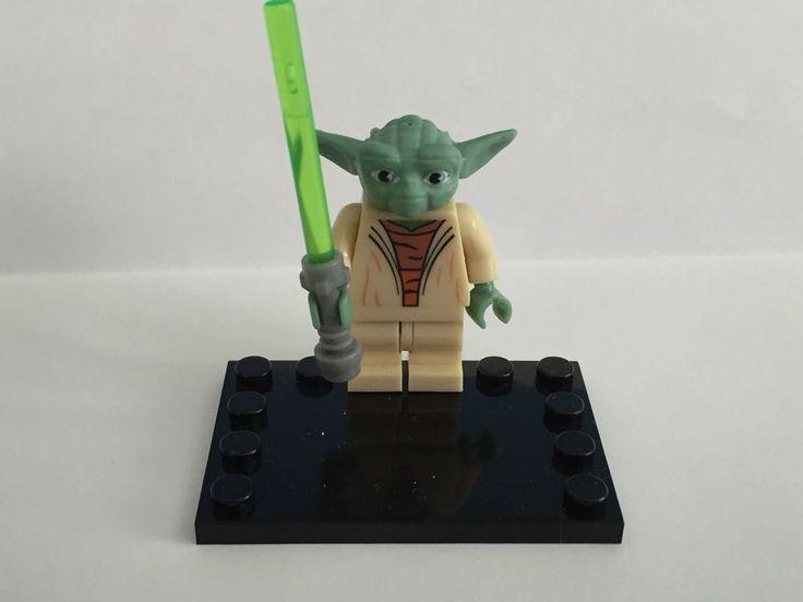 Lego Compatible Star Wars Yoda Minifigure 75002 4502 8018 7964 | eBay