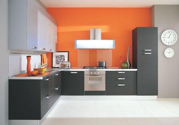 Best 25 gabinetes de cocina modernos ideas on pinterest - Cocinas color naranja ...
