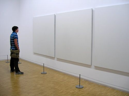 What are you looking at? Modern Art