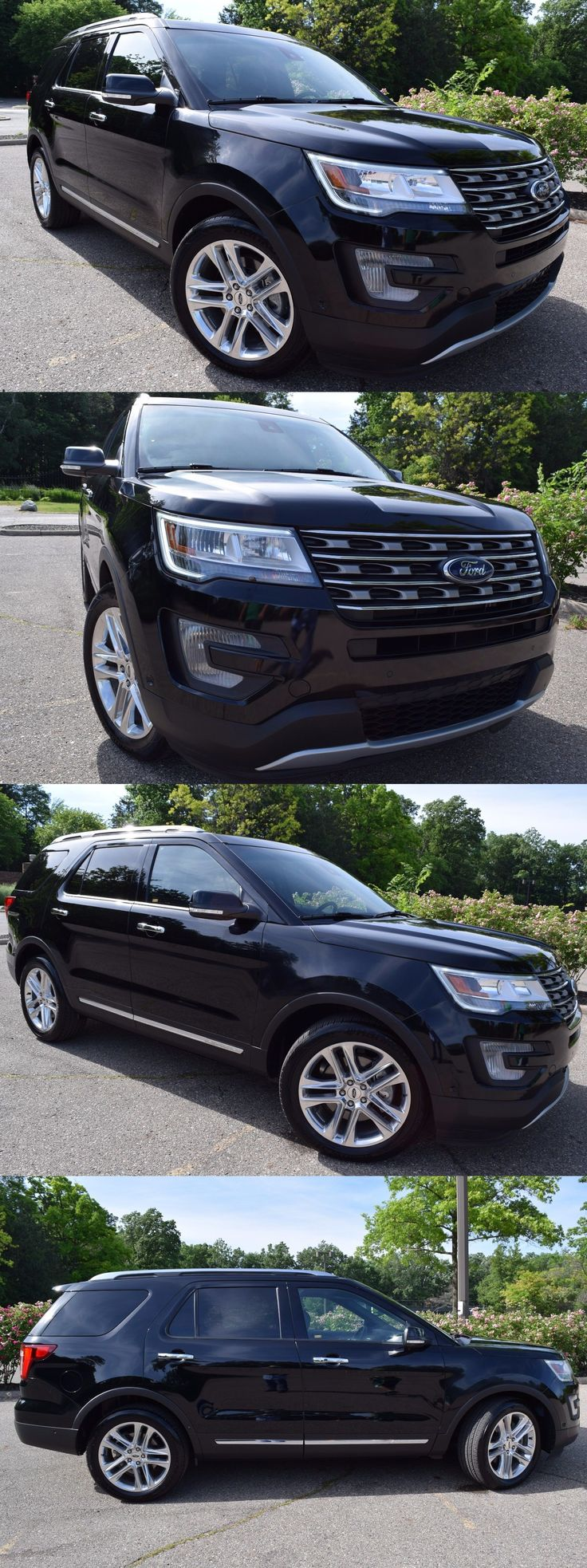 Suvs 2016 ford explorer limited edition heavily optioned suv 2016 ford explorer