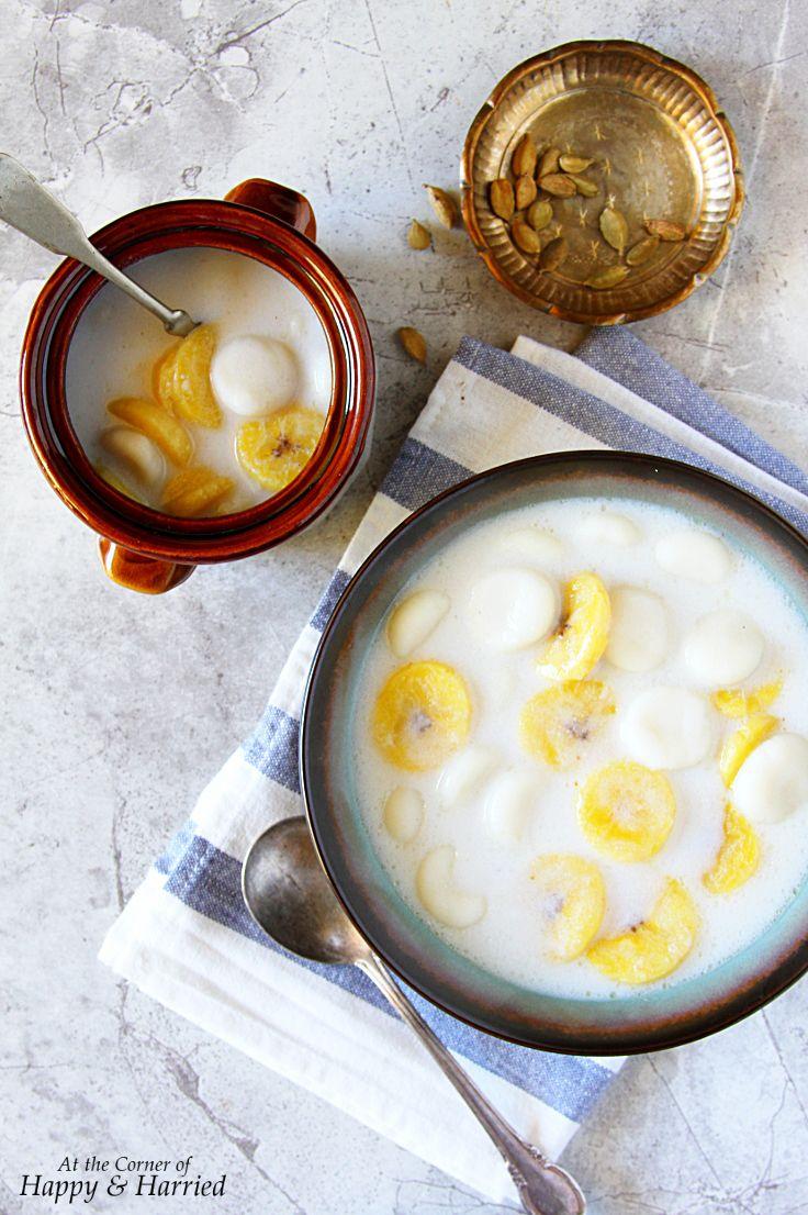 Paal Kozhukattai (Rice Flour Dumplings In A Coconut Milk ...